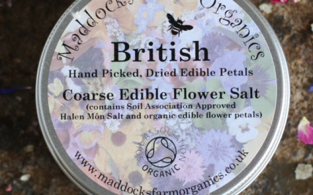 Buy edible flower salt