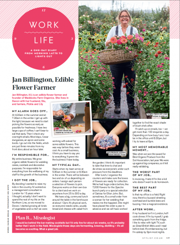 Jan Billington Edible Flower Farmer