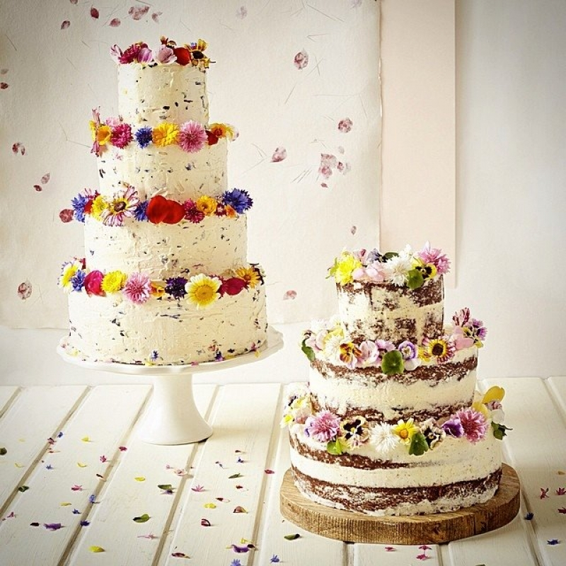 Cake Collections - Edible Flowers for Iced Wedding Cakes | Maddocks ...
