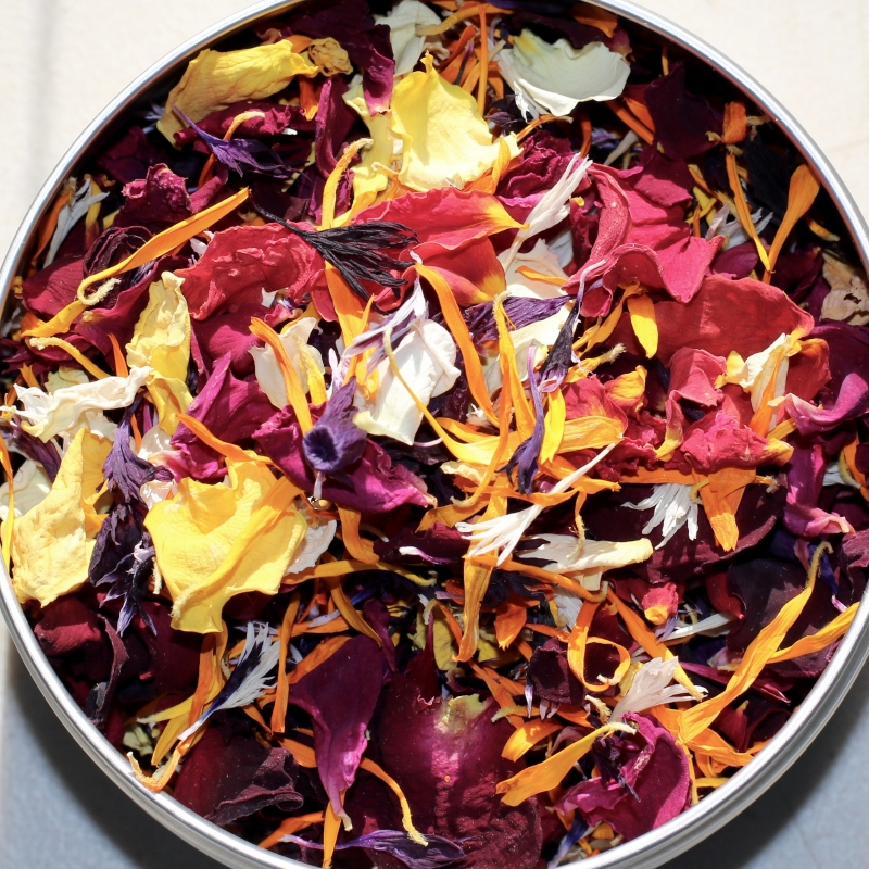 Buy dried edible flowers