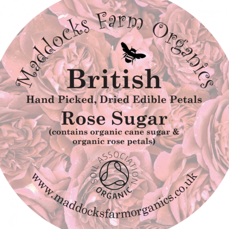 Buy Maddocks Farm Organic Rose Sugar